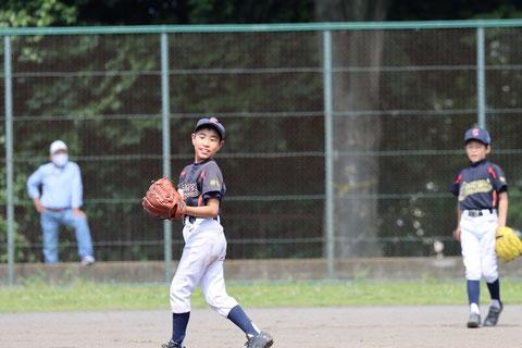 2021年5月23日 神奈川区少年野球 春季新人戦 天屋ビーバース対北原イーグルス