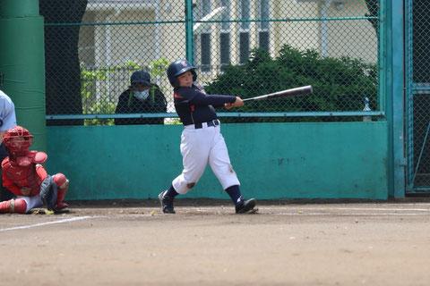 2021年5月4日 神奈川区少年野球 春季新人戦 天屋ビーバーズ対三枚町ファイターズ