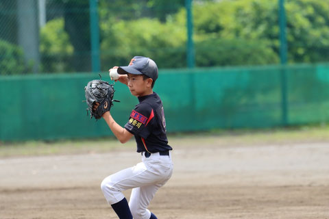 2021年6月20日 神奈川区少年野球 春季大会 天屋ビーバース対西菅田ライナー
