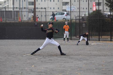 2020年12月12日 神奈川区 少年野球 うさぎ山カップ 天屋ビーバーズ対三ッ沢ライオンズ