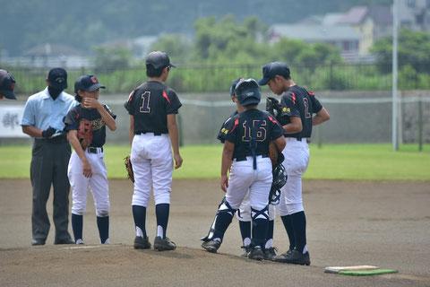 2020年8月8日 神奈川区 少年野球 全国共済 天屋ビーバーズ対下野谷ジュニア