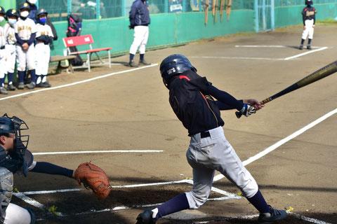 神奈川区少年野球 会長杯 天屋ビーバーズ対反町ゴールドファイヤーF戦