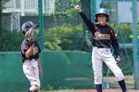 2020年5月8日 神奈川区少年野球 春季新人戦 天屋ビーバース対菅南フォックス