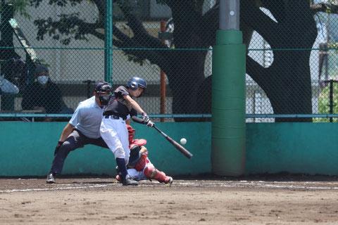 2021年6月5日 神奈川区少年野球 春季大会 天屋ビーバース対三枚町ファイターズ戦