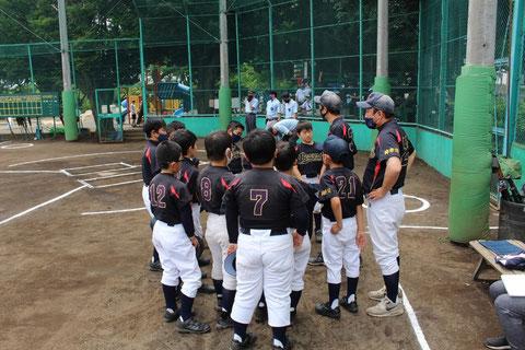 2021年5月29日 神奈川区少年野球 春季新人戦 天屋ビーバース対反町ゴールドファイヤー
