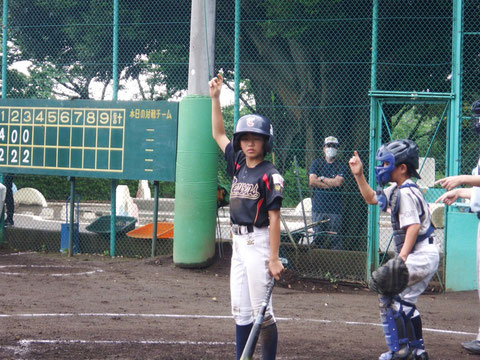 2020年7月23日 神奈川区 少年野球 春季大会 天屋ビーバーズ対反町ゴールドファイヤー