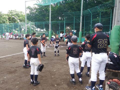 2020年7月11日 神奈川区 少年野球 会長杯 天屋ビーバース対菅東ドラゴンズ