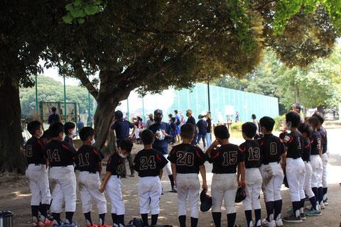 2020年8月22日 神奈川区 少年野球 春季新人戦 天屋ビーバーズ対菅東ドラゴンズ