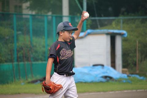 2020年9月5日 神奈川区 少年野球 秋季大会 天屋ビーバーズ対反町ゴールドファイヤー(反町F)