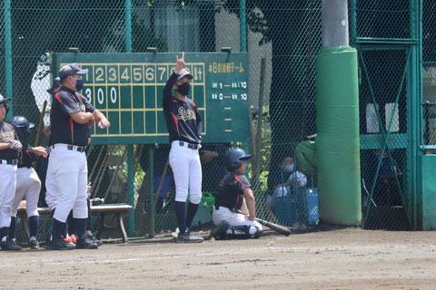 2021年7月10日 神奈川区少年野球 春季大会 天屋ビーバース対北原イーグルス