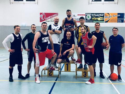 SV-Motor-Großenhain Basketball Mannschaft 2018
