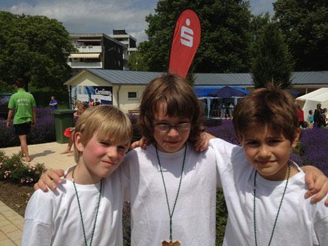 Dreifachsieg für Marvin, Justin und Philipp