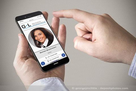 NFC vCard - Guido Leber Marketing Mediaberatung