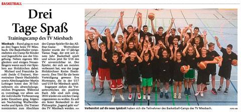 Artikel im Miesbacher Merkur am 30.9.2015