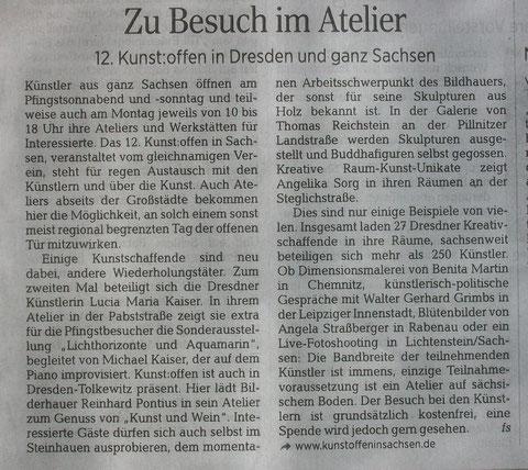 Artikel aus der DNN (Dresdner Neueste Nachrichten)