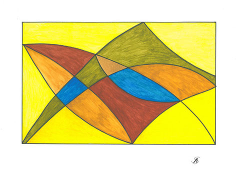 abstrakte Malerei_Aquarell