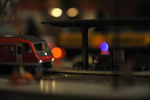 S-Bahn am Bahnhof Dohnsberg Nord