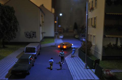 Familienfreundlich - eine verkehrsberuhigte Zone in der Dohnsberger Neustadt