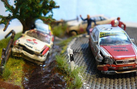Leider lassen sich Unfälle dabei nie komplett vermeiden. Es wurde jedoch niemand ernsthaft  verletzt.
