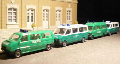 Diverse Gruppen- und Halbgruppenkraftwagen (GruKw, HGruKw)