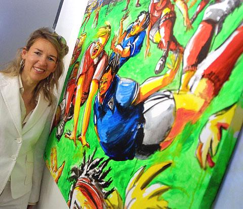 2006: Ballkunst im Bild, üstra Hannoversche Verkehrsbetriebe AG/Hannover