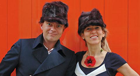 Die Künstler und Kommunikationsexperten Claudia und Frank Kundlinski