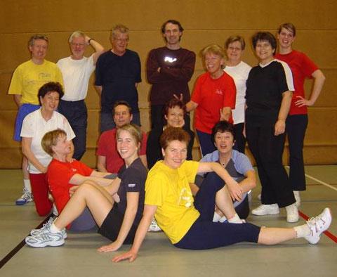 Einige Teilnehmer der Gruppe