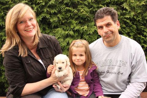 Familie Kullmann mit Lucky