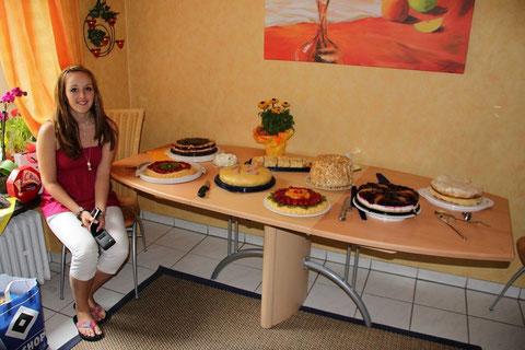 Annika und die Geburtstagstorten