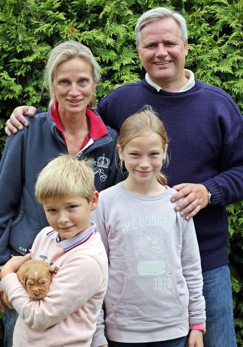 Familie Nysten mit Dreamer