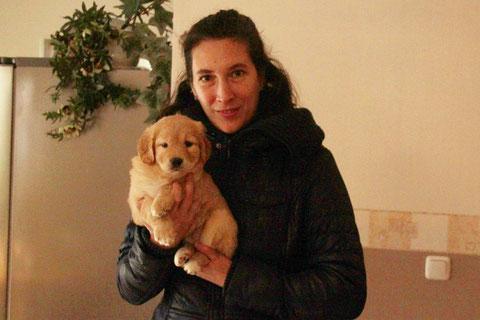Dr. Tatjana Rusch mit Evi