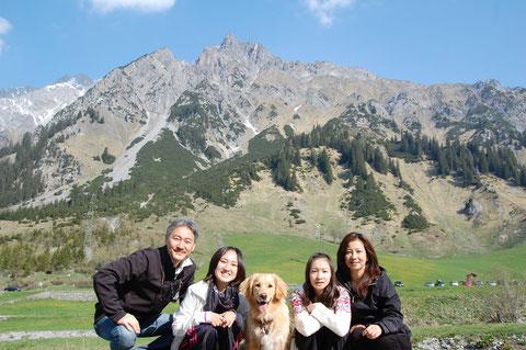 Family Jimbo with Luna