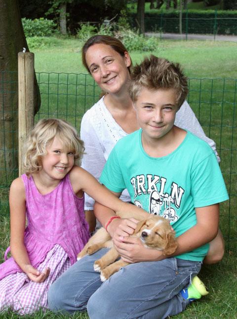 Familie Schumacher mit Paris