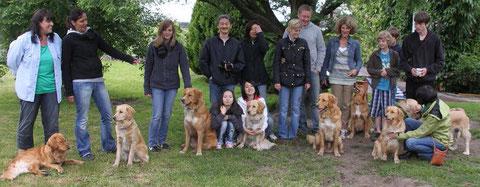 Junghundtreffen A-Wurf am 19. Juni 2010
