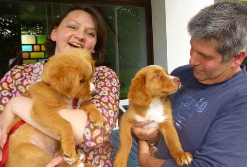Polly (links) und Fux Ayuki (rechts)