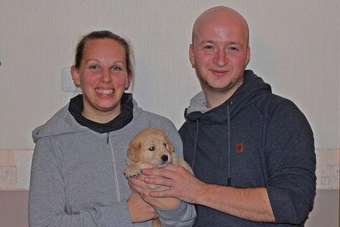 Stefanie & Thomas mit Estelle