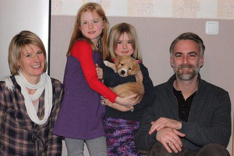 Familie Lüdke mit Ede