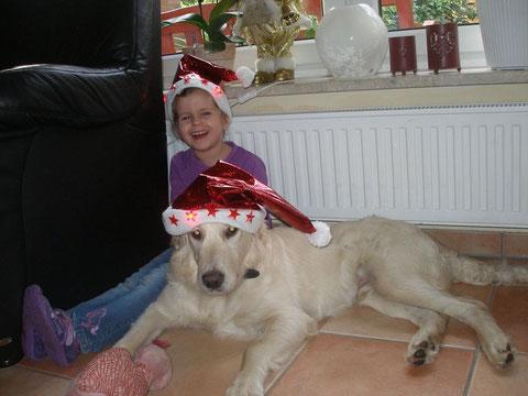 Leonie mit Lucky