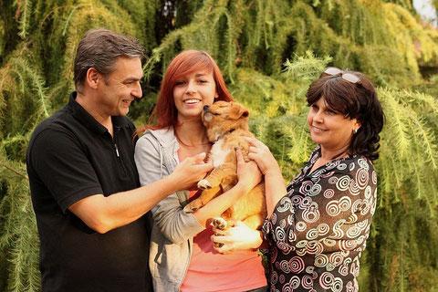 Familie Döhring mit Diva