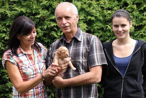 Familie Schmiedt mit Toni