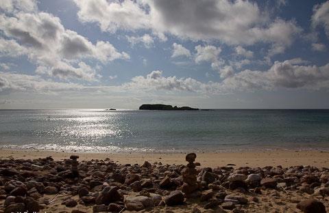 Blick vom Strand Martinhal