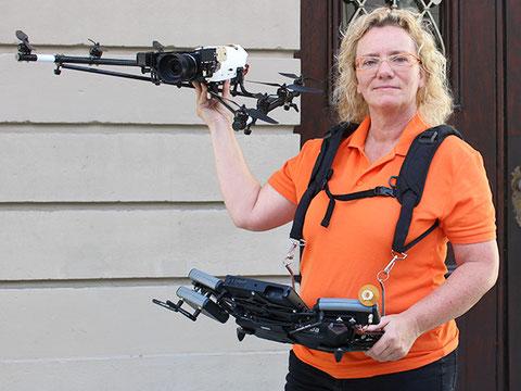 Luftbilder, Luftvideos mit Drohne