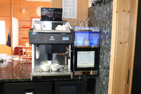 Electrolux Tango ACE ST Duo Kaffeemaschine Vollautomat Gastro, Unic Tango Espresso Vollautomat mit Milchlösung