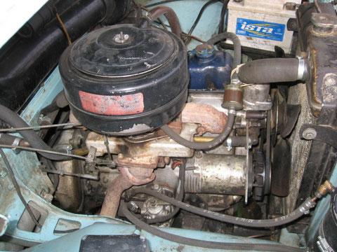 Motor Ansicht rechts