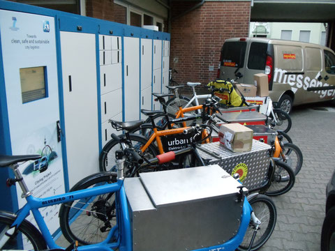 Lastenräder vor BentoBox