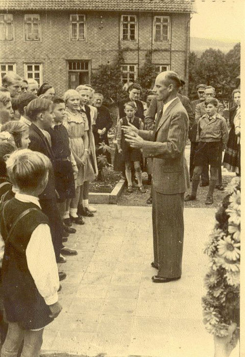 Schuleinweihung 1951