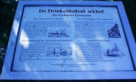 Der Drinkeldodenkarkhof auf Spiekeroog