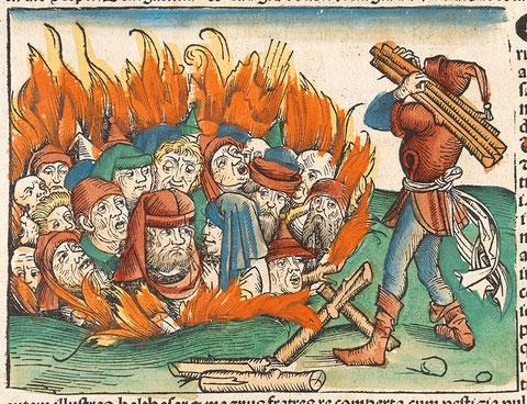 Bildnachweis: Bayerische Staatsbibliothek München, Rar. 287, fol. 230v