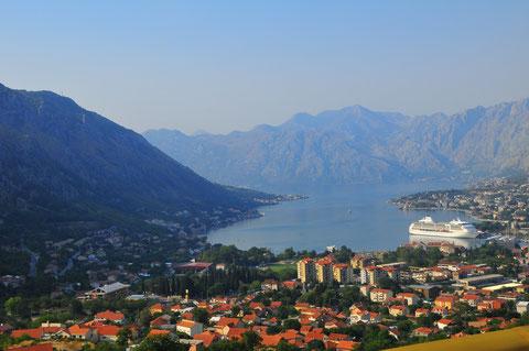 Die Bucht von Kotor Montenegro Fotoschule Landschaftsfotografie