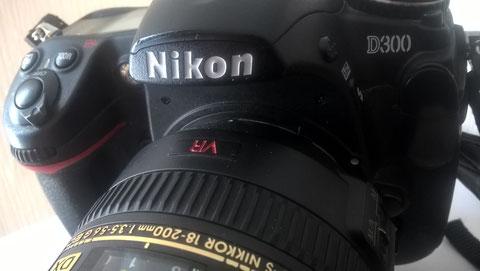 Digitale Foto-Kamera Nikon D300